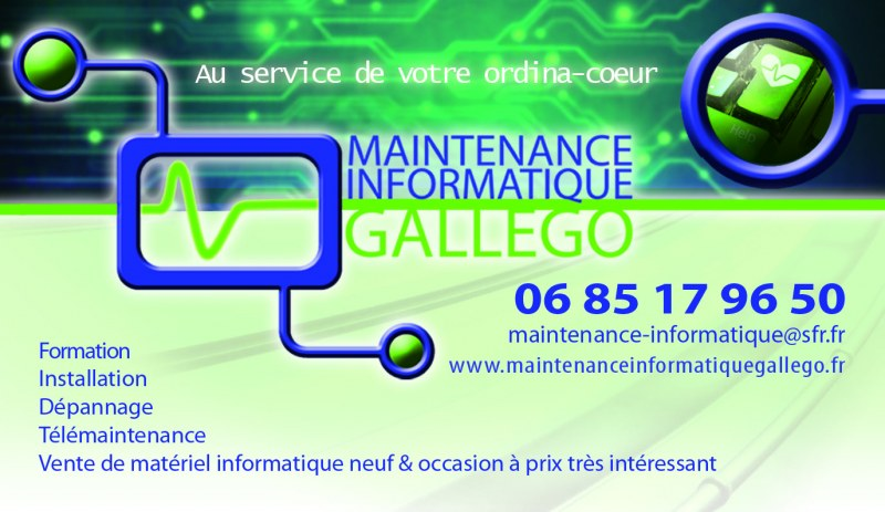 Maintenance Informatique Gallego A Notre Dame De Londres Adresse